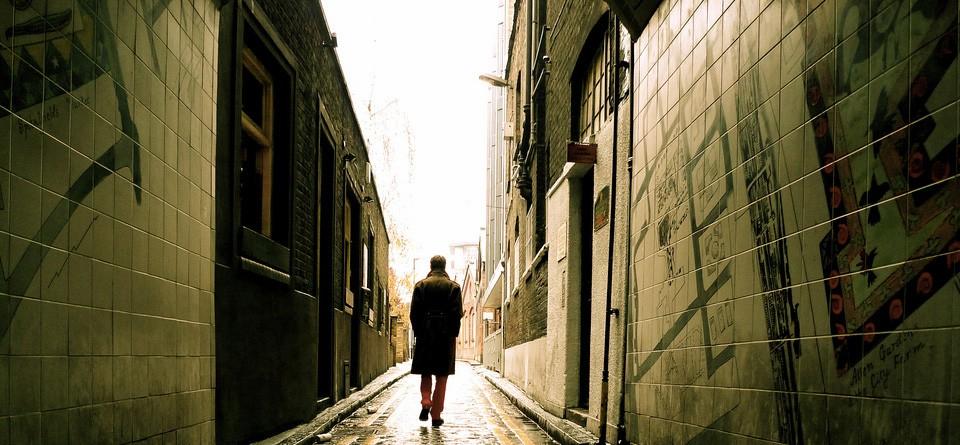 Homme qui marche